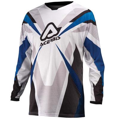 Acerbis Motocross Jersey Blue Profile