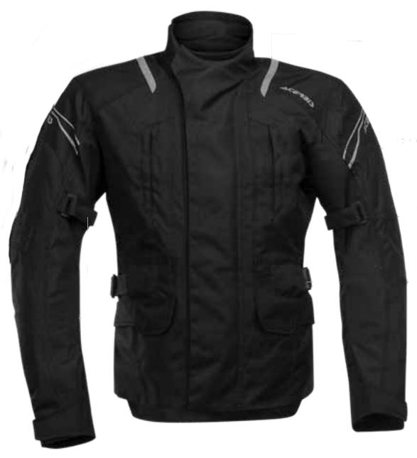 Snaefell motorcycle jacket Acerbis Black