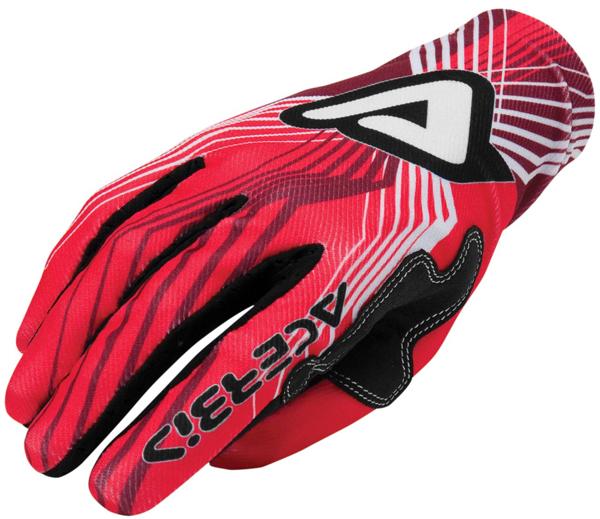 Guanti motocross Acerbis Mx-x3 Rosso