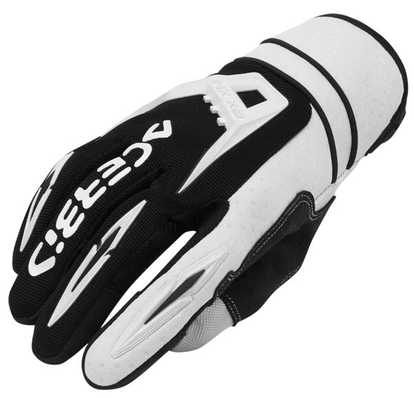 Cross X2 Gloves Acerbis MX White