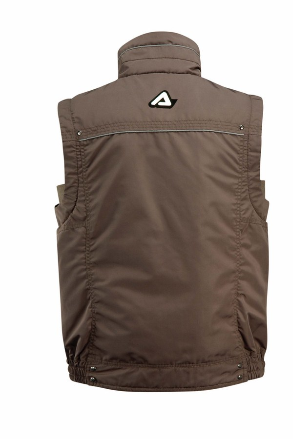 Acerbis Motorcycle Vest Brown Bel Air
