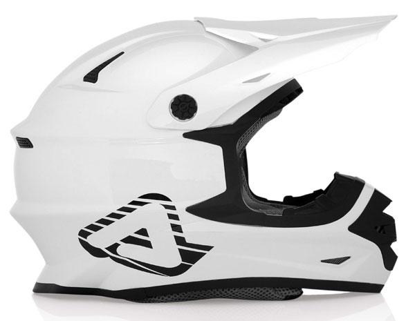 Motocross helmet Acerbis X pro FullWhite