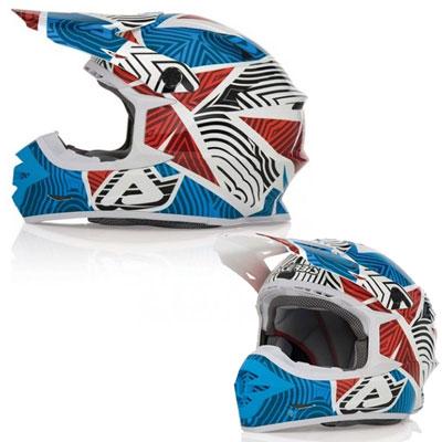 Casco motocross Acerbis X pro Savatage