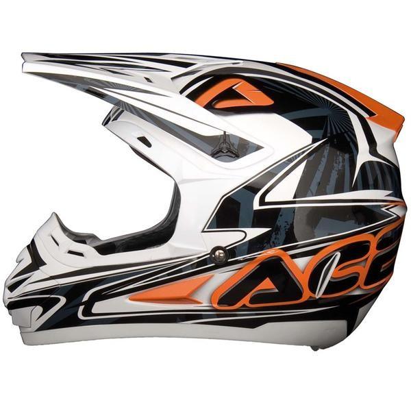 Acerbis Motocross Helmet Basic Orange
