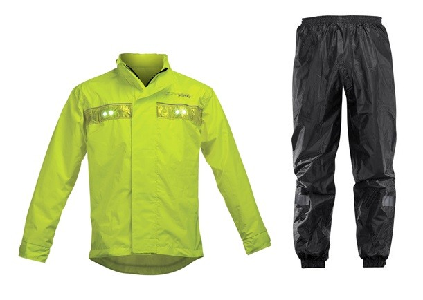 Rain Rain-piece suit Acerbis Vision LED Black September Gia