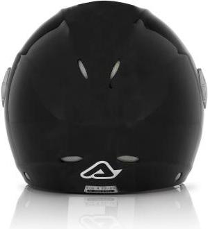 Casco moto jet Acerbis X-JET Full Black