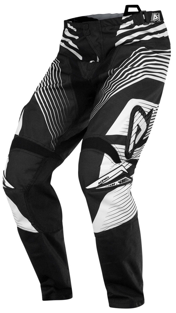 Black Pants cross Acerbis Profile