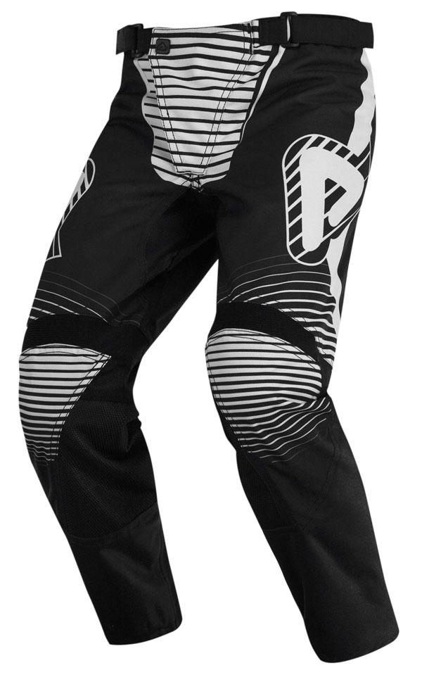 Baby Pants cross Acerbis Impact Black White