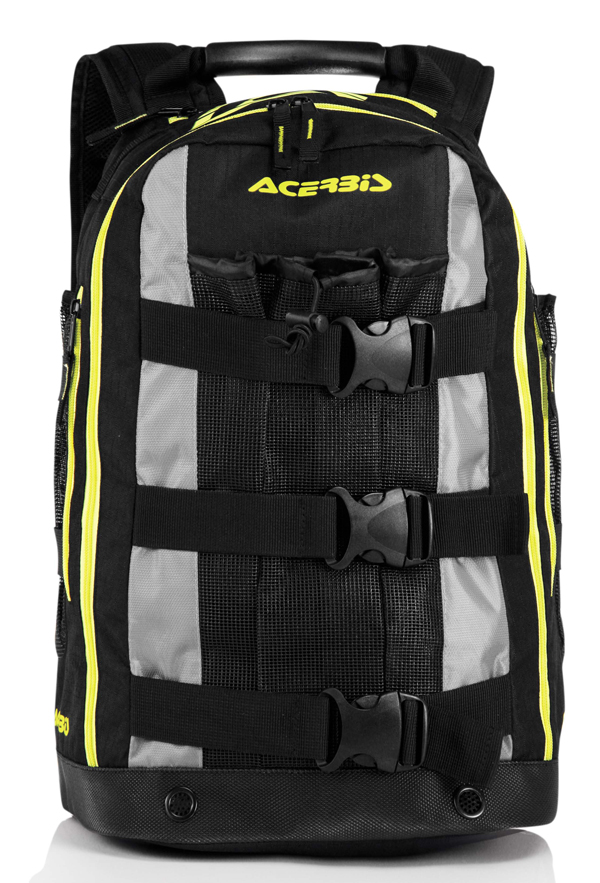 Acerbis Shadow Backpack Black Yellow