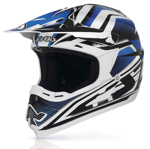 Casco cross Acerbis Profile 14 Blu