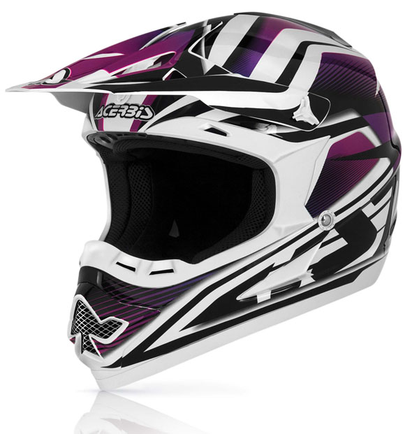 Casco cross Acerbis Profile 14 Viola