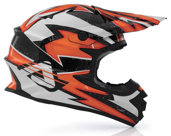 Cross helmet Acerbis X-Pro Firefy Orange