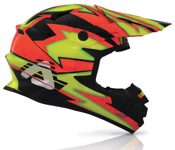 Cross helmet Acerbis X-Pro Fluo Firefly