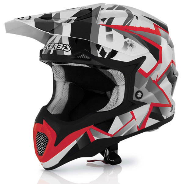Casco cross Acerbis Impact All Stars