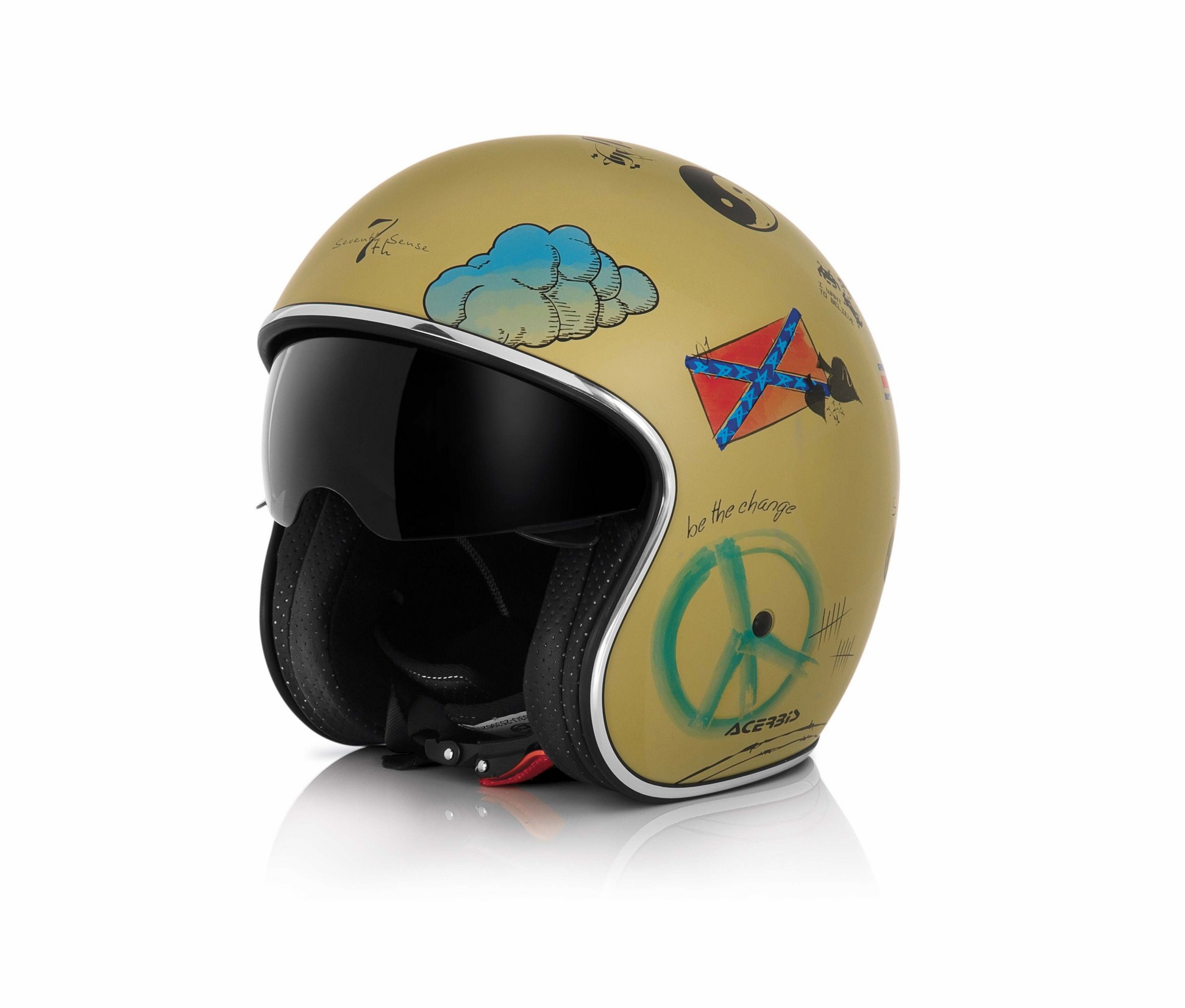 Jet Helmet Acerbis San Francisco