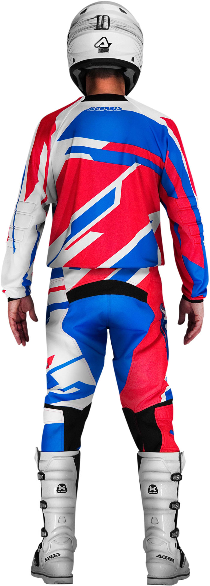 Jersey cross Acerbis Profile Red Blue