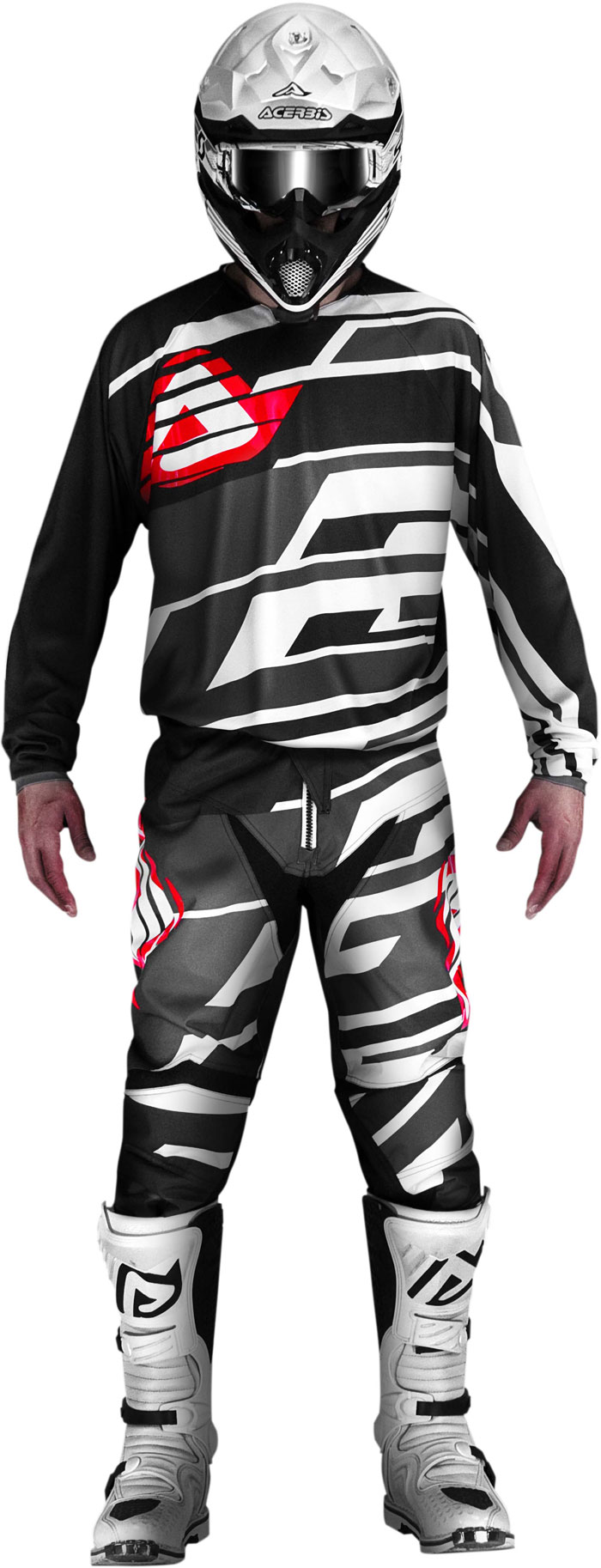 Pants cross Acerbis Profile Black Grey