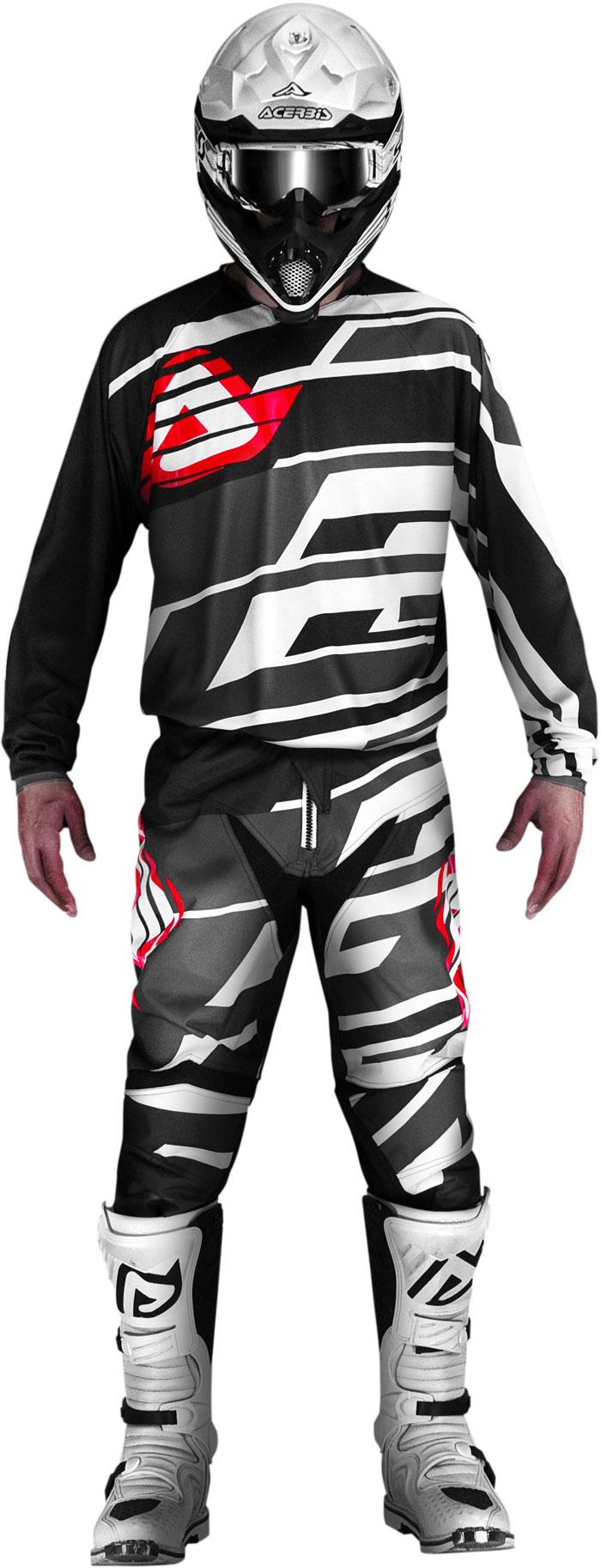 Pants cross Acerbis Profile Black Grey