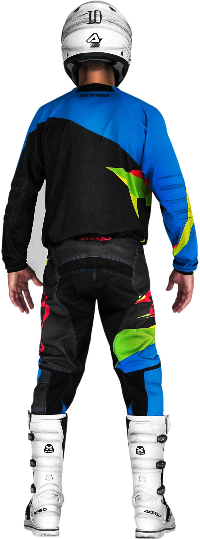 Pants Acerbis cross LTD Edition Green Blue