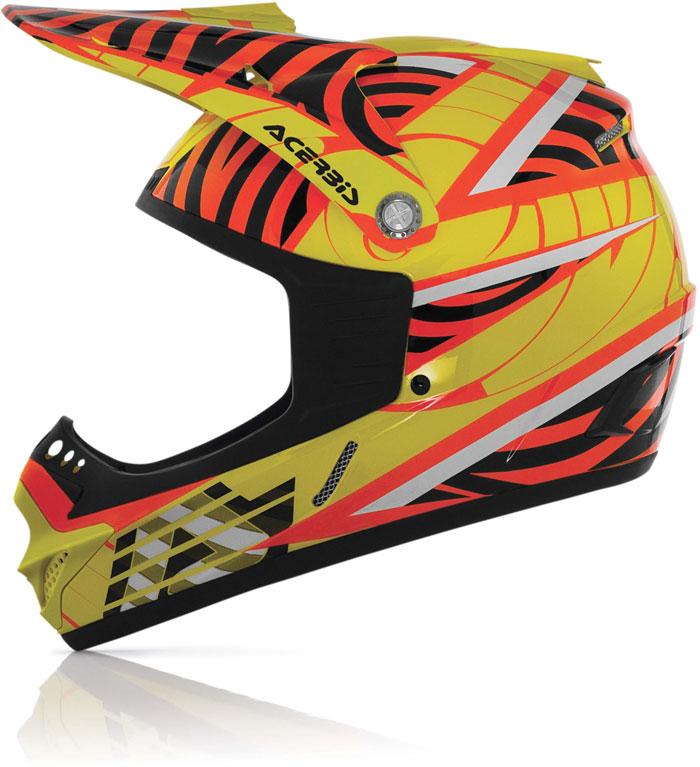 Cross helmet child Acerbis Impact Junior Yellow fluo