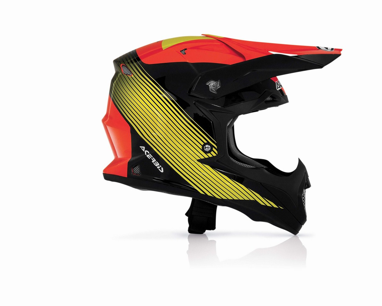 Casco cross Acerbis Impact Wishmaster