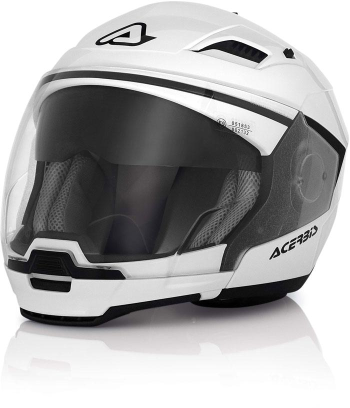 Modular Helmet White Acerbis Stratos