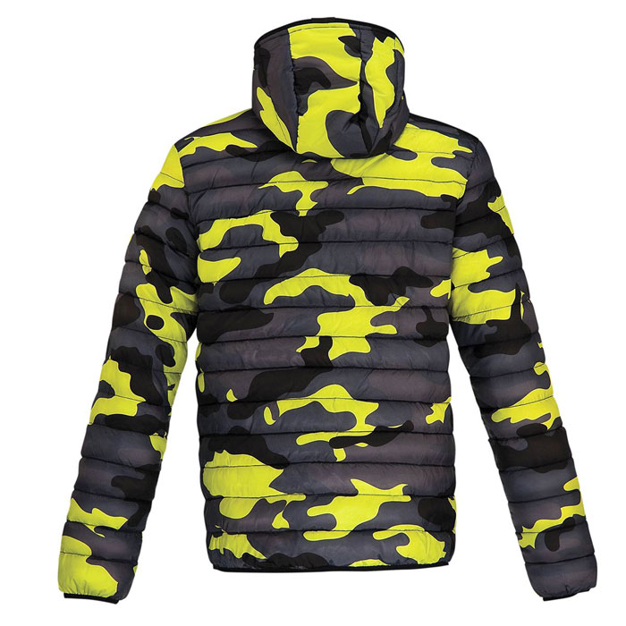 Acerbis Helmes jacket Blue Yellow Camouflage