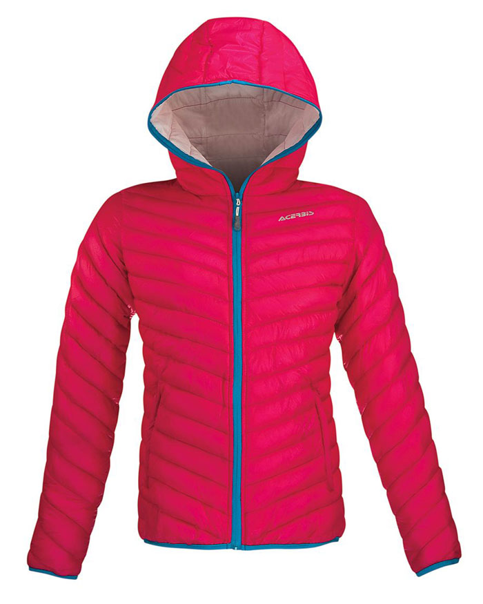 Acerbis Helmes Lady woman jacket Pink White