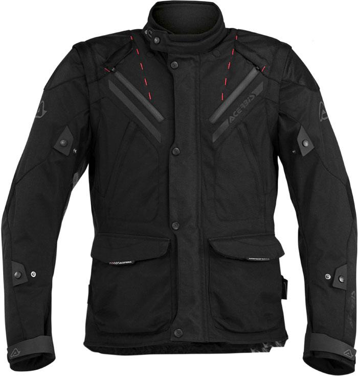 Acerbis motorcycle jacket with detachable sleeves Black Creek