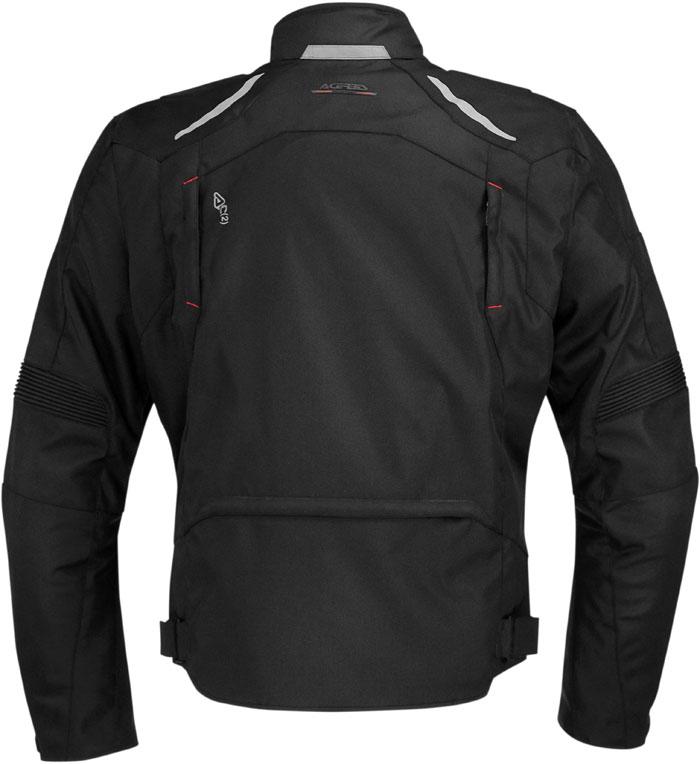 Motorcycle jacket Acerbis Joey Black