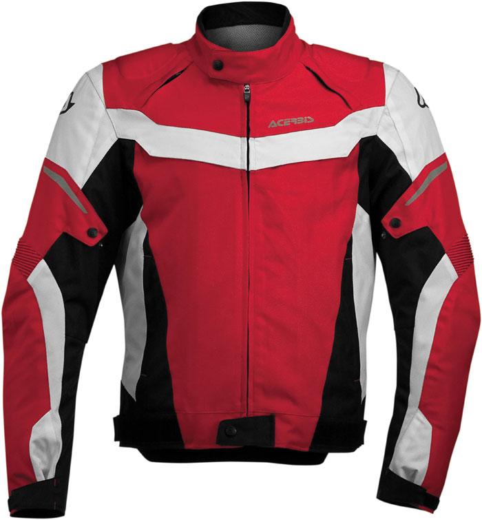 Motorcycle jacket Acerbis Joey Rosso