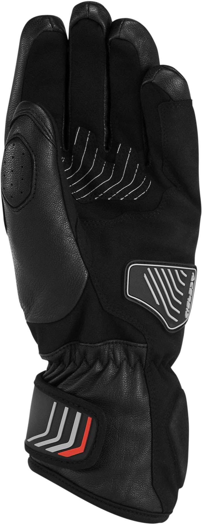 Woman leather motorcycle gloves Acerbis Caley Lady Black