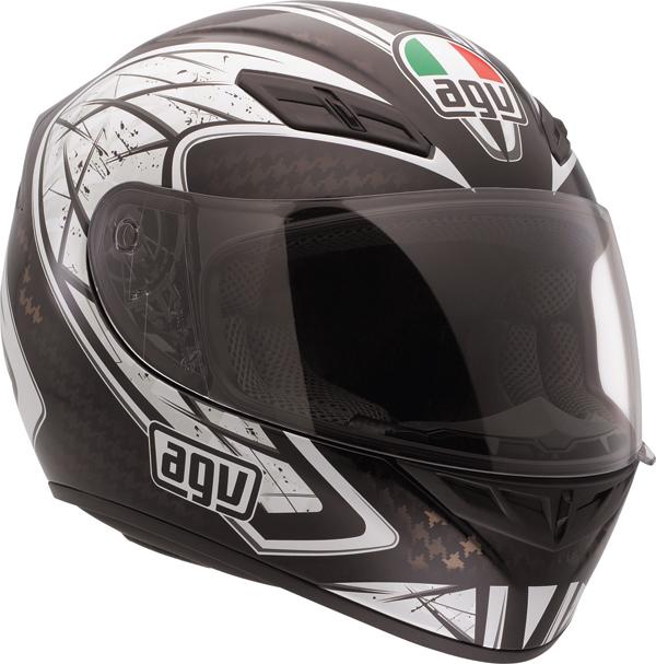 Agv K-4 Evo Multi Sliver full-face helmet black-gunmetal