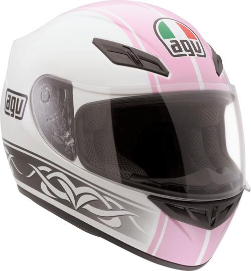 Agv K-4 Evo Multi Roadster full-face helmet white-pink