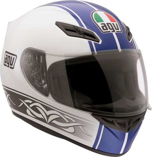 Casco moto Agv K-4 Evo Multi Roadster bianco-blu
