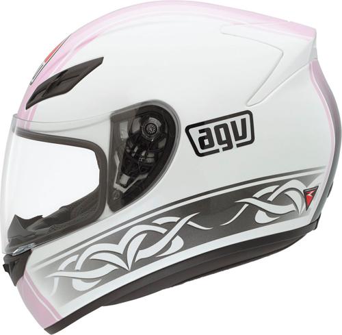 Casco moto Agv K-4 Evo Multi Roadster bianco-rosa