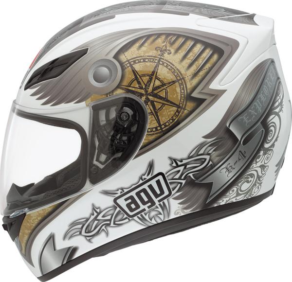 Agv K-4 Evo Multi Explorer full-face helmet white