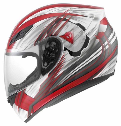Agv K-4 Evo Multi Hang-On full-face helmet white-red