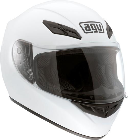 Agv K-4 Evo Mono full-face helmet white