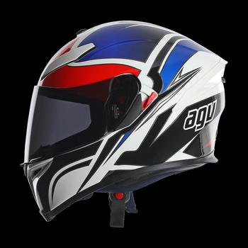 AGV K5 Roadracer full face helmet White Red Blue