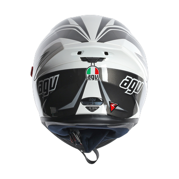 AGV K5 Roadracer full face helmet White Gunmetal Black