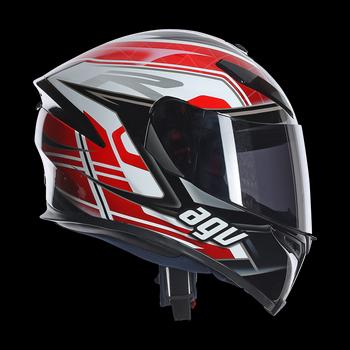 AGV K5 Dimension full face helmet Black White RED