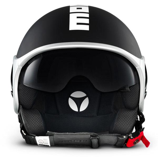 Jet Helmet Momo Design Minimomo Matte black white