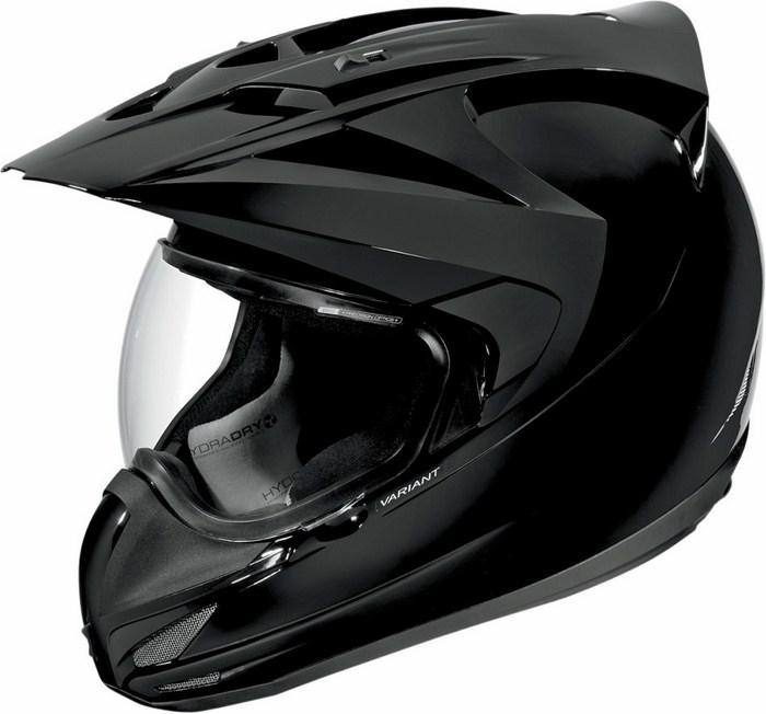 Icon Variant Helmet Full Gloss Black