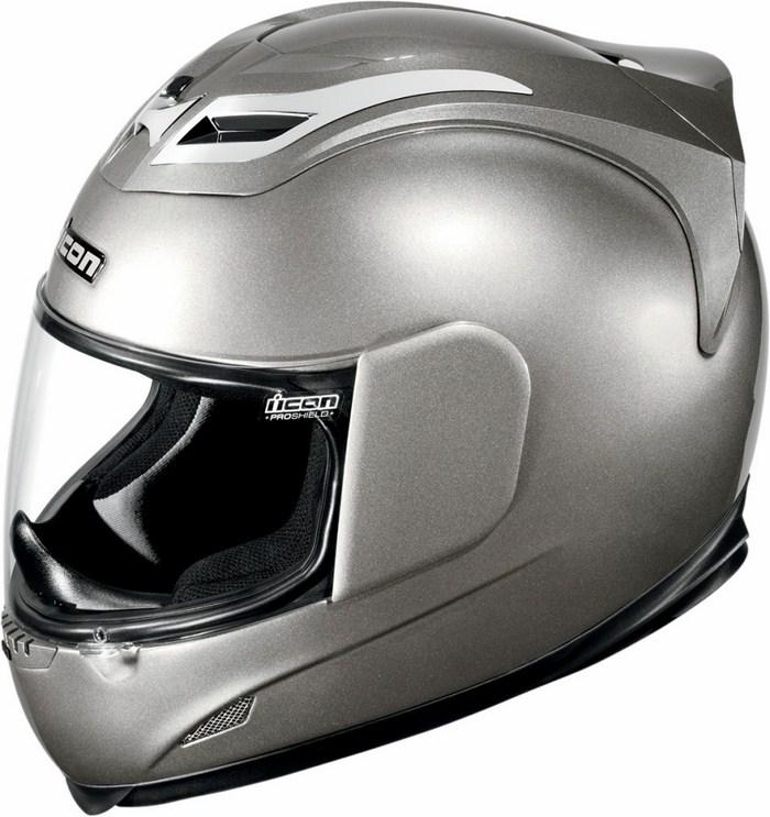 Icon Airframe Full Face Helmet Gloss Silver