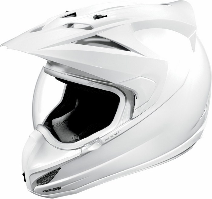 Casco integrale Icon Variant Gloss Bianco