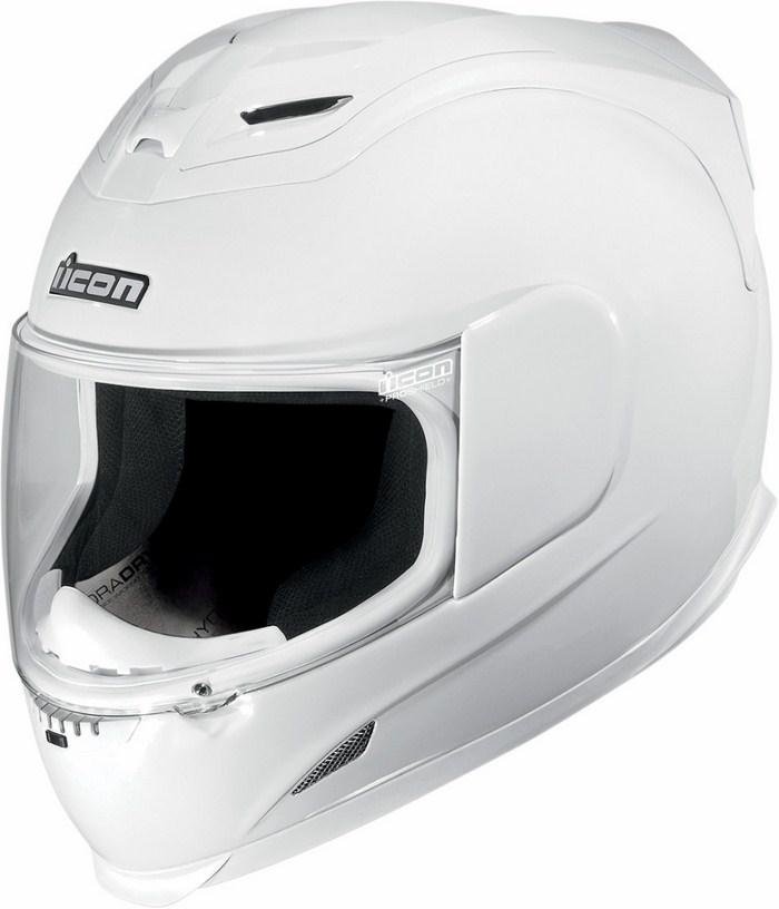 Casco integrale Icon Airframe Gloss Bianco