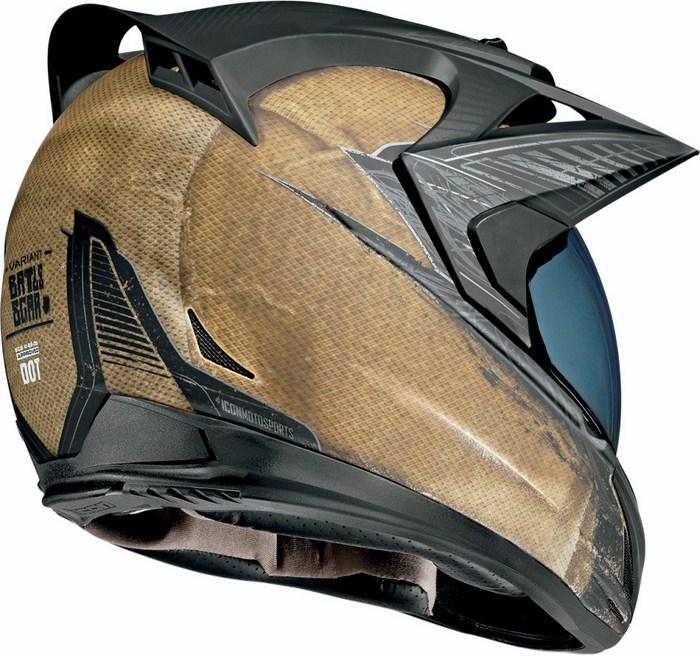 Icon Variant Helmet Full battlescar Brown