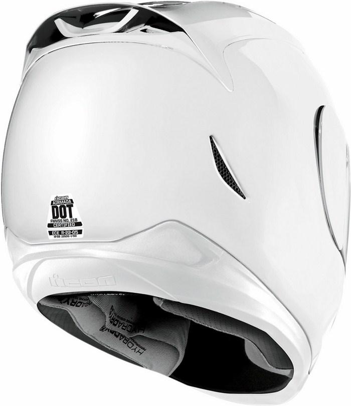 Casco integrale Icon Airmada Gloss Bianco