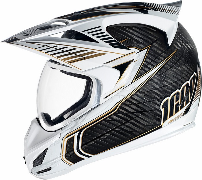 Icon Variant Helmet Full Carbon Cyclic White